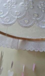 hanging mobile detail