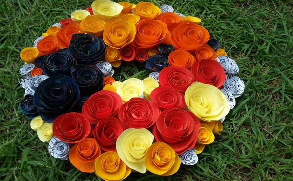 week-nine-paper-flower-wreath
