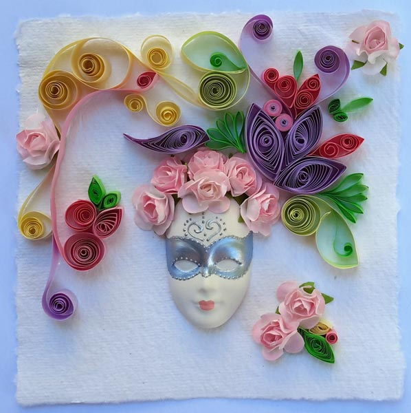 quilling-and-mask